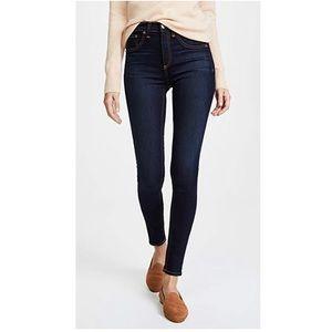 Rag & Bone High Waist Skinny Jeans - Bedford